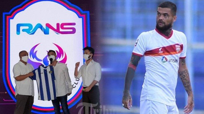 RANS Cilegon FC Kental Aroma Timnas Indonesia, Cristian Gonzales Muncul, Diego Michiels Menyusul?