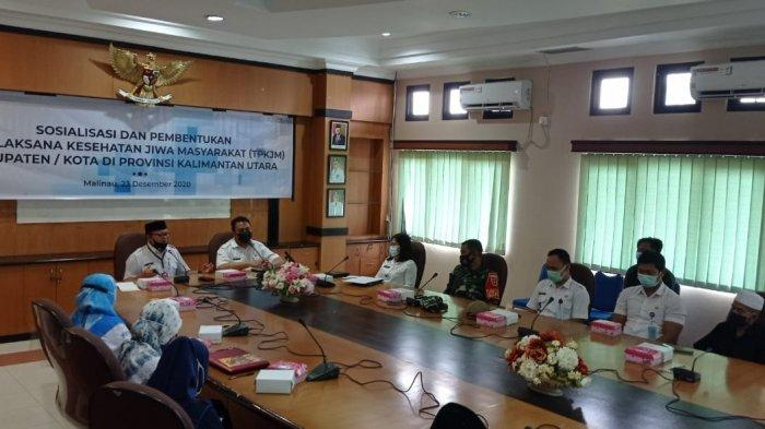 Dinkes Kaltara Inisiasi Pembentukan TP-KJM di Malinau, Fokus Tangani Orang Gangguan Kejiwaan