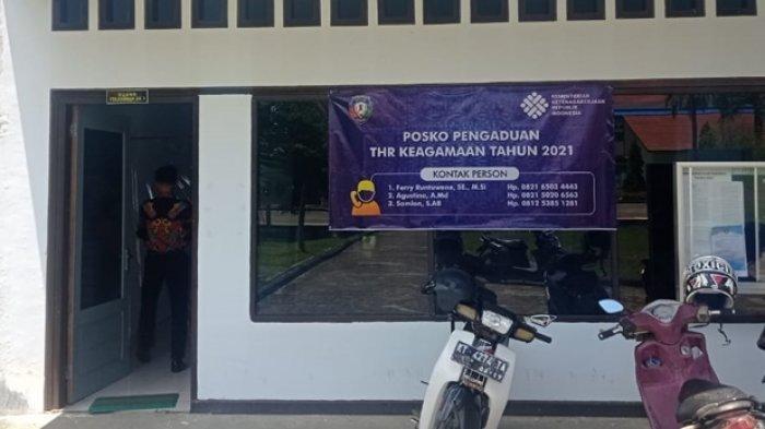Posko Pengawasan Pembayaran THR 2021 Dibuka di Malinau, Disnaker Masih Tunggu Laporan Buruh Pekerja