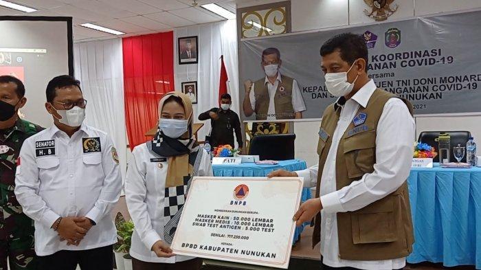 Di Nunukan, Kemlu Jelaskan 3 Pola Kepulangan WNI Kembali ke Tanah Air Mendapat Teguran Kepala BNPB