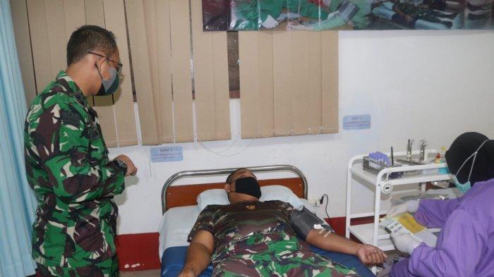 Bantu Warga Butuh Transfusi Darah, Kodim 0907 Tarakan Gelar Aksi Donor Darah, HUT Kodam Mulawarman