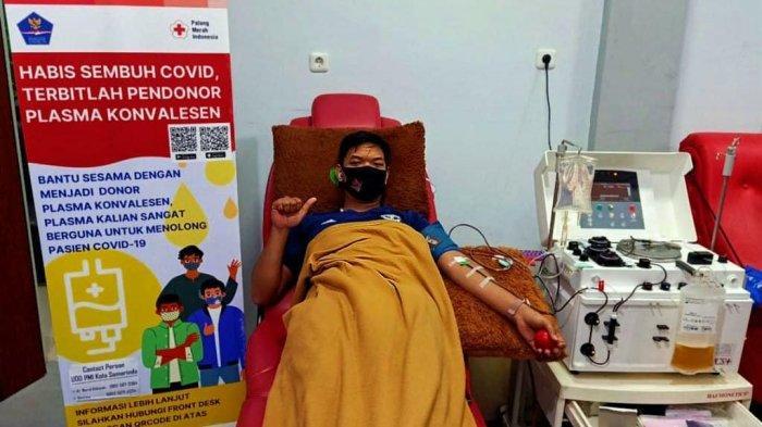 PMI Samarinda Fasilitasi Penyintas Covid-19, Menjadi Donor Plasma Konvalesen