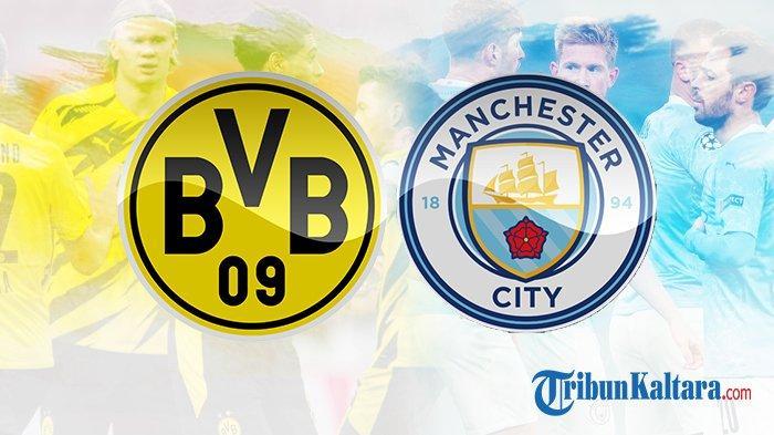 Jadwal Live Streaming Dortmund vs Man City di Liga Champions, Tayang Pukul 02.00 Wib