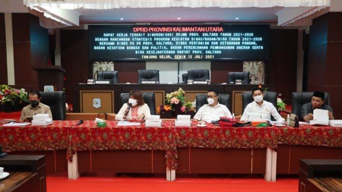 DPRD Kaltara Minta Dinas PUPR Perkim Tingkatkan Infrastruktur Jalandi Wilayah Perbatasan
