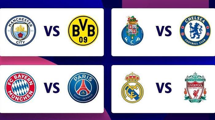 Hasil Drawing Perempat Final Liga Champions, Duel Seru Bayern vs PSG dan Real Madrid vs Liverpool