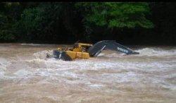 Dua korban hanyut terseret aliran sungai tubu, di Desa Long Pada, Kecamatan Sungai Tubu, Kabupaten Malinau, Provinsi Kalimantan Utara, (Istimewa)