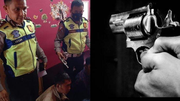 Aksi Heroik Polisi Tangkap 2 Pelanggar Lalu Lintas yang Todongkan Pistol ke Ibu dan Anak di Terminal