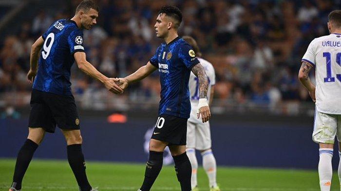 Hasil Liga Champions Inter Milan vs Real Madrid, Dzeko Sulit Jebol Gawang Courtois, Skor 0-0