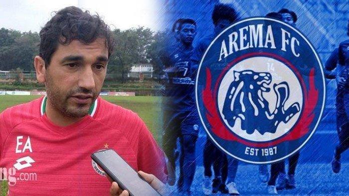 Arema FC Tatap Liga 1 2021 Bareng Pelatih Anyar Eduardo Almeida, Punya Banyak PR di Skuad Singo Edan