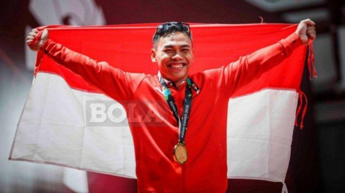 LIVE di Indosiar-TVRI, Angkat Besi Olimpiade Tokyo 2021, Eko Yuli dkk Berpeluang Meraih Medali Emas