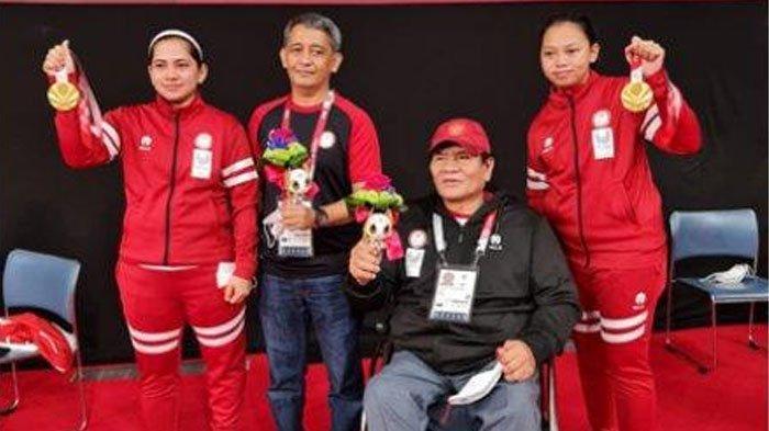 Ganda Puteri Indonesia Leani /Khalimatus Raih Medali Emas Pertama di Paralimpiade Tokyo 2020