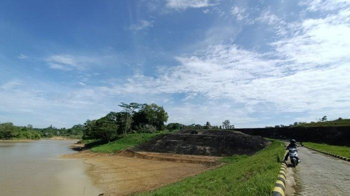 Embung Binalatung, salah satu embung penampung stok air baku untuk warga Tarakan