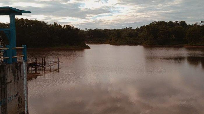 Hujan Deras Tak Turun di Tarakan, Embung Binalatung Nyaris Kering, WaspadaKemarau Terjadi Agustus