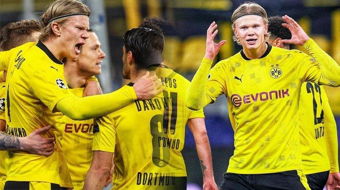 Singkirkan Sevilla, Dortmund ke Perempat Final Liga Champions, Haaland Lewati Rekor Messi dan Mbappe