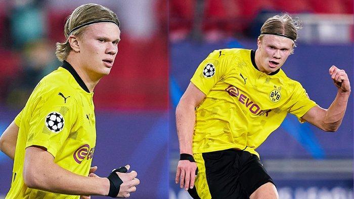 Pecahkan Rekor Legenda Bayern, Erling Haaland Bawa Dortmund Sikat Sevilla 3-2 di Liga Champions