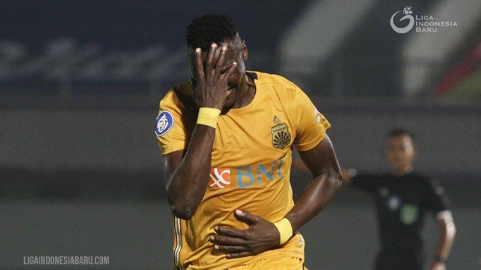 Profil Ezechiel N'Douassel, Top Skor Sementara Liga 1, Eks Persib yang Gacor Bareng Bhayangkara FC