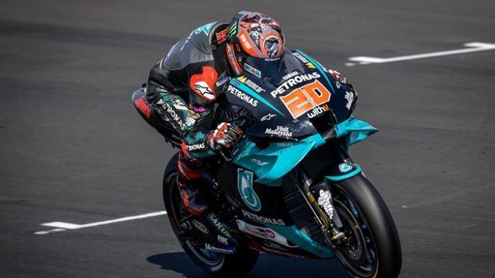 Rider Yamaha Fabio Quartararo optimis tatap MotoGP Prancis di Sirkuit Le Mans (motogp/com)