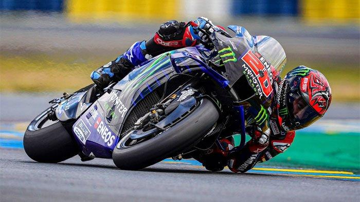 TAYANG SEKARANG MotoGP Prancis 2021, Fabio Quartararo Pole Position, Marc Marquez Siap Beri Kejutan