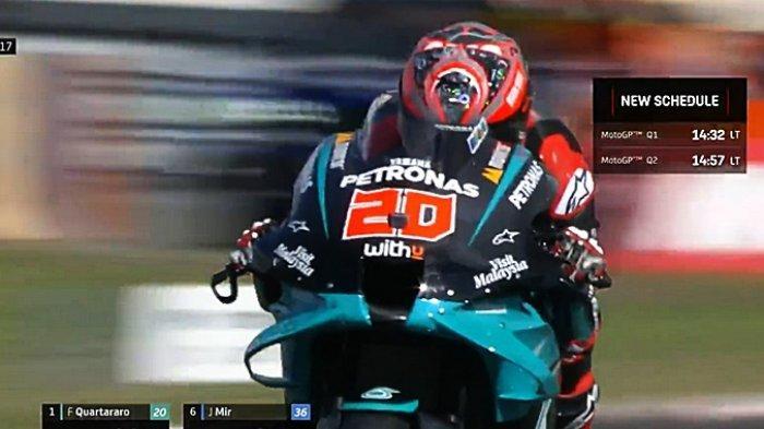 Live Streaming MotoGP Belanda 2021 Malam Ini di Trans 7, Quartararo Optimistis Kalahkan Vinales