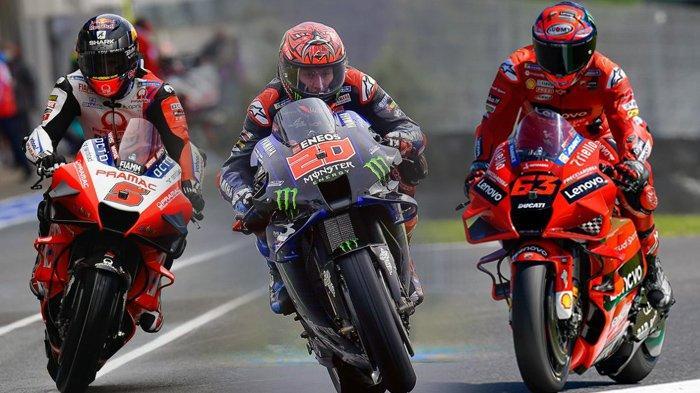 Tayang Sekarang Live Streaming MotoGP Italia 2021, Kompatriot Rossi di Ducati Ancam Quartararo