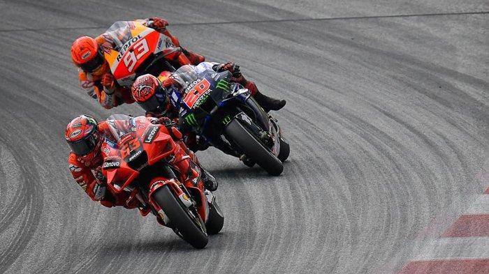 Jadwal MotoGP 2021, Tersisa 3 Seri: Persaingan antara Quartararo vs Bagnaia, El Diablo Diuntungkan