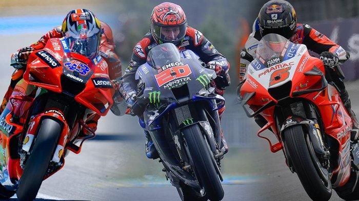 Hasil Kualifikasi MotoGP Catalunya 2021, Quartararo Pole Position, Rossi Jatuh, Ducati Tebar Ancaman
