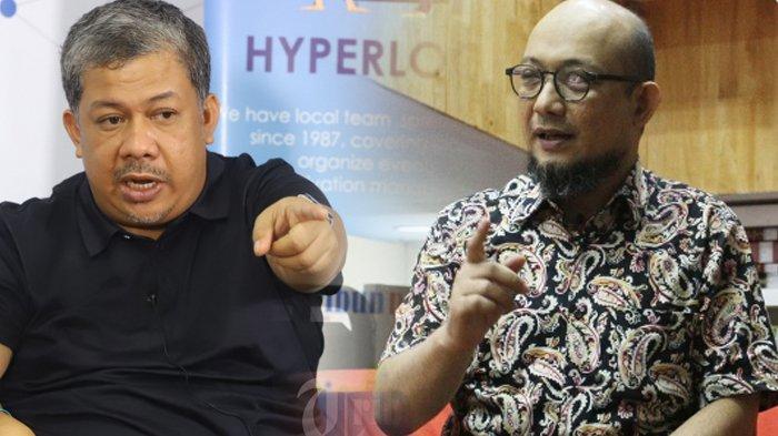 Novel Baswedan Cs Dipecat KPK, Fahri Hamzah Tak Percaya Niat Jahat Lembaga Pimpinan Firli Bahuri