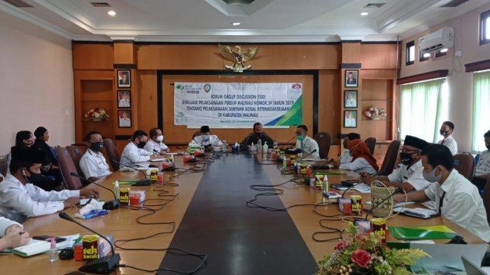 November 2020 Jumlah Penyaluran BPJS Ketenagakerjaan di Malinau Capai 90 Persen, JHT Rp 1,2 Miliar