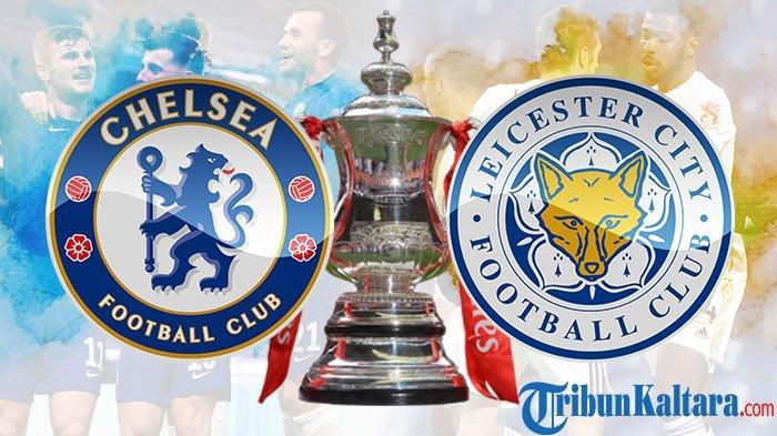 Live Streaming Chelsea vs Leicester City, Final Piala FA di Vidio.com Pukul 23.30 Wib