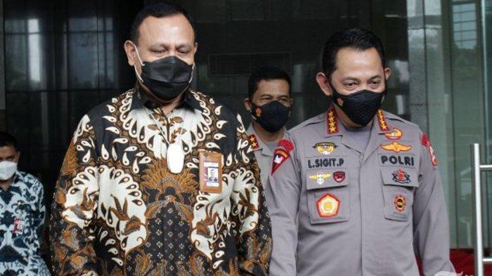 Reaksi Mabes Polri saat ICW Desak Kapolri Copot Ketua KPK Firli Bahuri sebagai Polisi Aktif