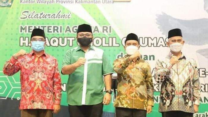 Pembangunan Asrama Haji Transit dan Madrasah Aliyah Negeri Insan Cendekia (MAN-IC) di Kota Tarakan, Kalimantan Utara resmi dimulai.