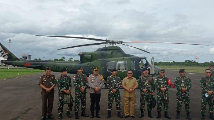 Tim Itjen TNI Temukan Kendala Operasi Pengamanan Perbatasan Indonesia Karena Akses & Cuaca Ekstrem