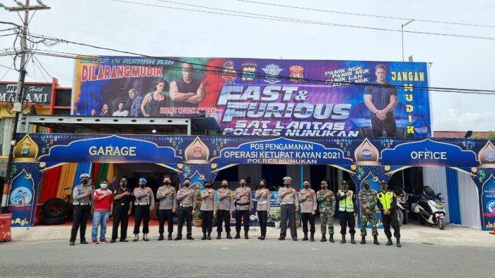 Pos Operasi Ketupat Pakai Tema Fast & Furious, Polres Nunukan: Tetap di Rumah Aja, Dilarang Mudik