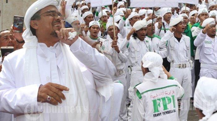 Aktivitas dan Atribut FPI Dilarang, Simpatisan Rizieq Shihab di Tarakan Ngaku Tidak Mau Pusing