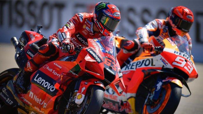 Jadwal MotoGP Amerika 2021, Duel Sengit Fabio Quartararo vs Francesco Bagnaia, Marquez Bisa Menjegal