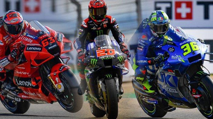 Klasemen MotoGP 2021, Quartararo Terancam Gagal Juara, Bagnaia dan Joan Mir Mendekat