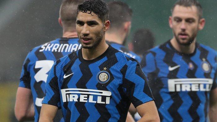 Fullback Inter Milan, Achraf Hakimi (Twitter / @inter)