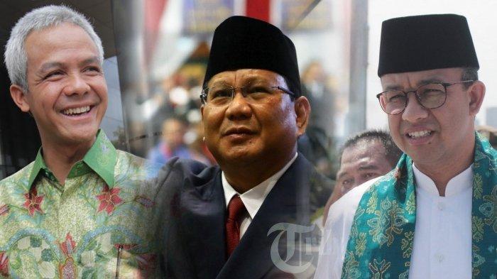 Dikepung Ganjar dan Anies Baswedan, Elektabilitas Prabowo Masih Dominan di 7 Lembaga Survei