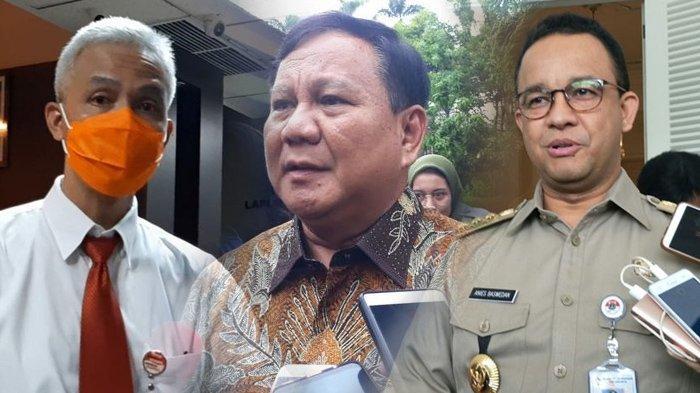 Ganjar Pranowo Ungguli Prabowo dan Anies Baswedan, Tokoh PDIP Lainnya dan Puan Maharani Tenggelam