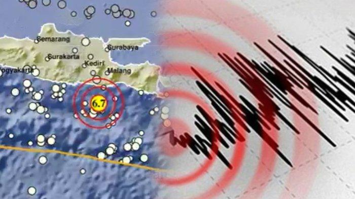 BREAKING NEWS - Gempa Bumi M 6,7 Guncang Malang, Getaran Terasa hingga Surabaya