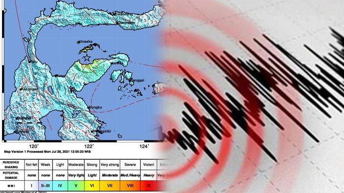 Gempa Susulan di Tojouna-Una  Sulawesi Tengah Berkekuatan M 6,5, BMKG Sebut Tak Berpotensi Tsunami