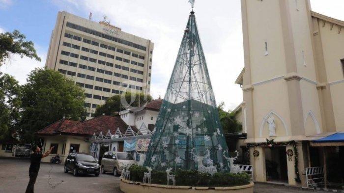 Ada ledakan bom, berikut profil Gereja Katedral Makassar, didirikan tahun 1989 dan tertua di Sulsel.