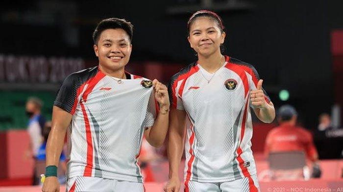 Greysia Polii/Apriyani Rahayu Cetak Sejarah, Sumbang Medali Emas Olimpiade Tokyo 2020