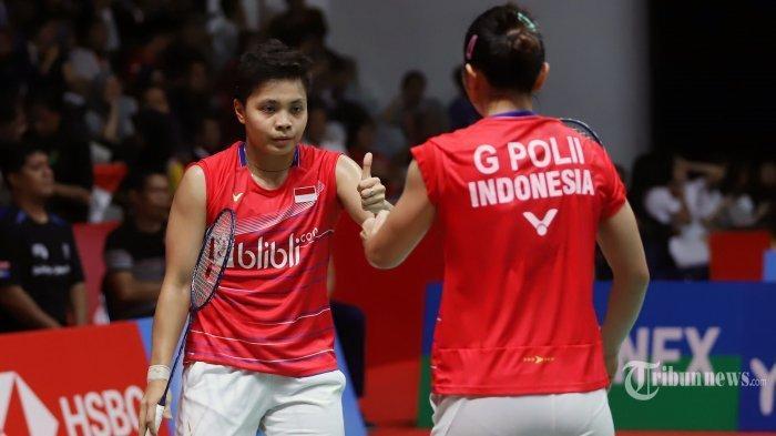 Hasil Olimpiade Tokyo 2020: Greysia Polii/Apriyani Rahayu ke Semifinal setelah Kalahkan Wakil China