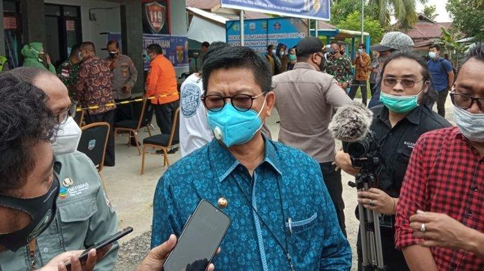 Vaksinasi Covid-19 Dimulai, Gubernur Kaltara Irianto Lambrie Sebut Belum Ada Sanksi Bagi Penolak
