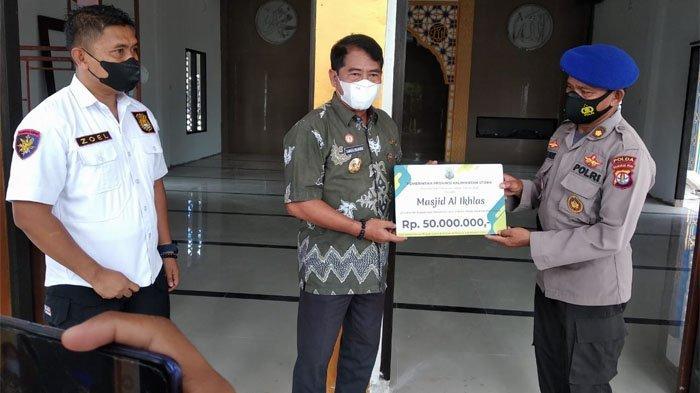 Gubernur Bantu Pembangunan Masjid Al Ikhlas Polairud Polda Kalimantan Utara