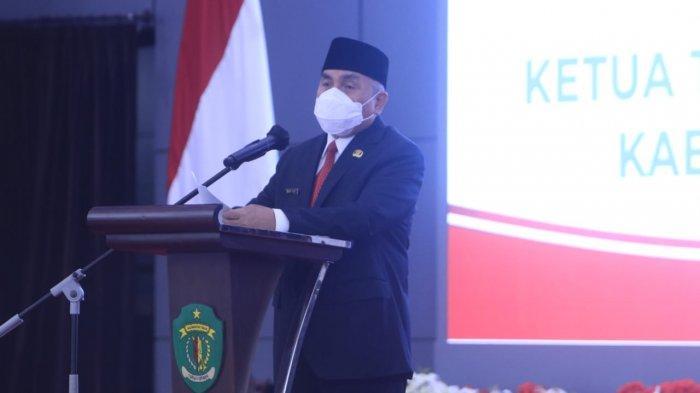 Usai Lantik Walikota Bontang dan Bupati Kubar, Ini Pesan Gubernur Kalimantan Timur Isran Noor