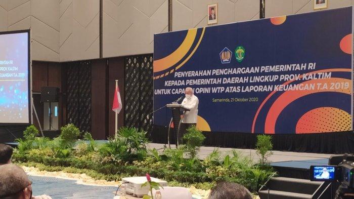Gubernur Kalimantan TimurIsran Noor Minta Kepala Daerah Untuk Cegah Kluster Baru Selama Pilkada