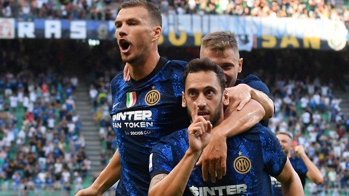 Hasil Liga Italia, Edin Dzeko dan Hakan Calhanoglu Moncer saat Debut, Inter Milan Ungguli Genoa