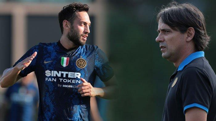 Hakan Calhanoglu Bikin Simone Inzaghi Optimis Bawa Inter Milan Berjaya di Liga Italia